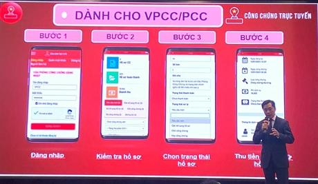 CHINHPHU VN - Ra mắt nền tảng công chứng trực tuyến