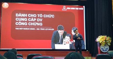 SGGP VN - Nền tảng Công chứng trực tuyến CCOL đầu tiên tại Việt Nam